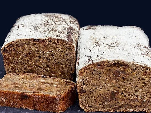 Rye, Raisin & Carraway Sliced Bread - 1600g