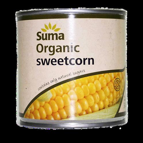Organic Sweetcorn - 340g