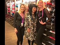La Senza Sandton Store Launch - Fem Duo with Suki Tong - Brand Manger for La Senza