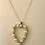 Thumbnail: Pearl Diamond Heart Pendant
