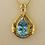 Thumbnail: Blue Topaz Pendant