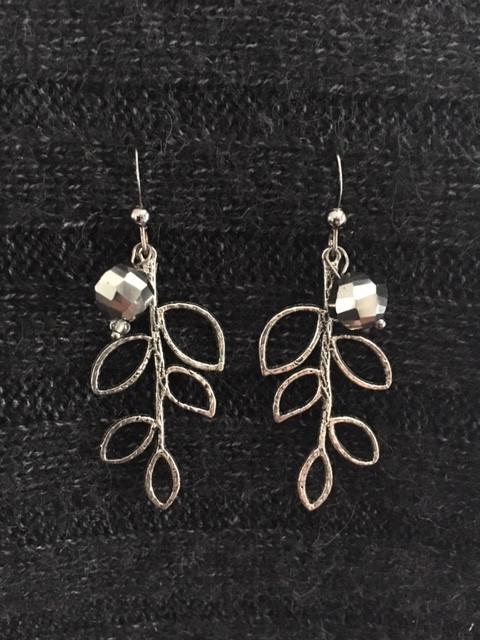 Silver Branch Earrings_1