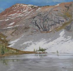 Lake Sylvia, Last Snow.