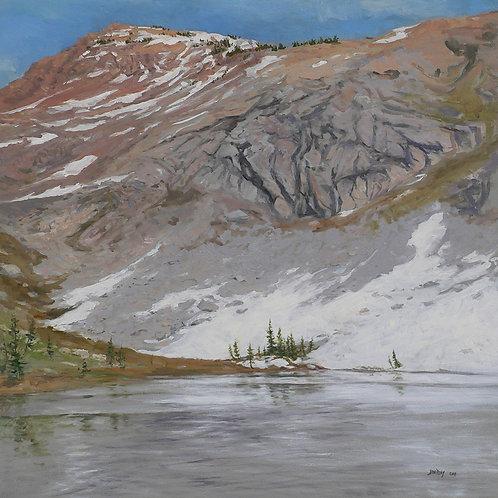 Lake Sylvia, Last Snow
