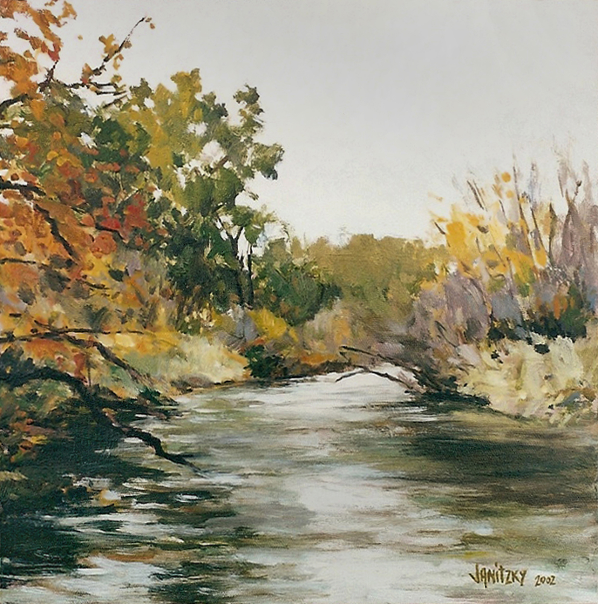 Putah Creek, Autumn Study.