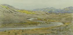 West Walker River, October.