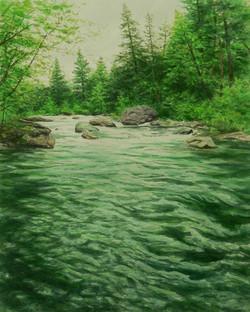 McCloud River, Lunker Rock.