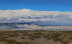 Cold Front, Mojave Desert.