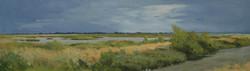 Liberty Island, September. 2005. Oil on canvas, 24 x 48_edited.jpg