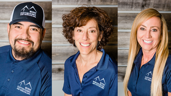 Torres, Clement, and Simons Fill New Positions at Morse Custom Homes and Remodeling