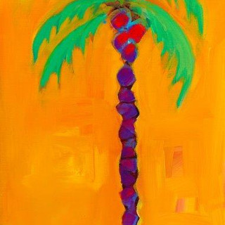 Palm in Yellow