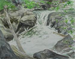 Silver Fork, Foamy Water.