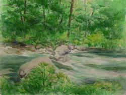 McCloud River, Study.