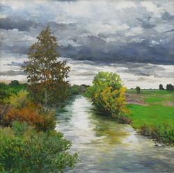 Putah Creek, From Old Davis Road.