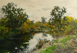 Putah Creek, October.