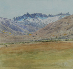 Sawtooth Ridge.