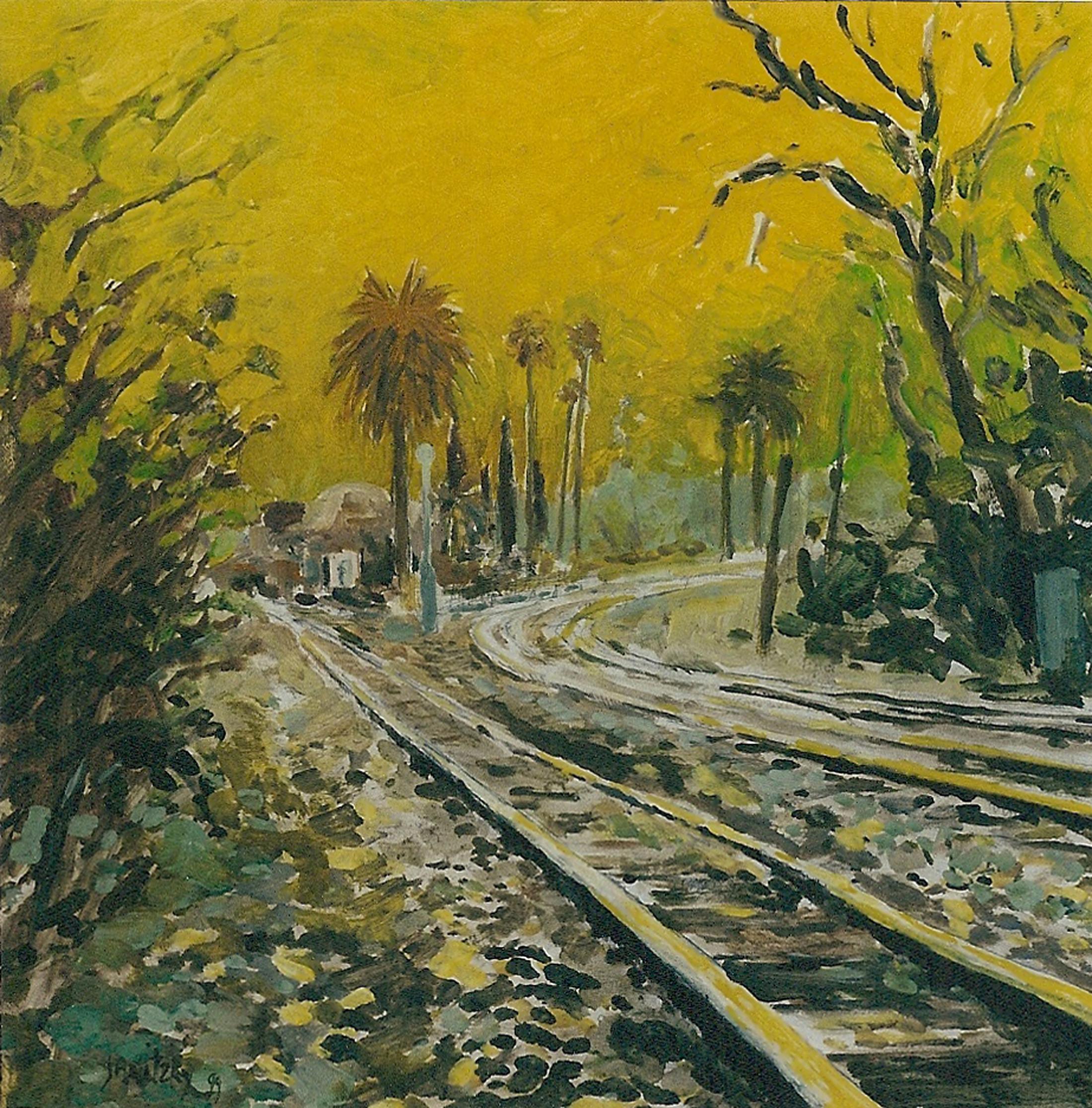 Davis Train Depot, Yellow Sky.