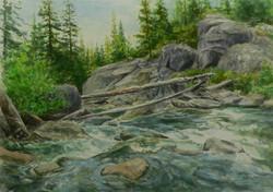 Silver Fork, Swift Water.