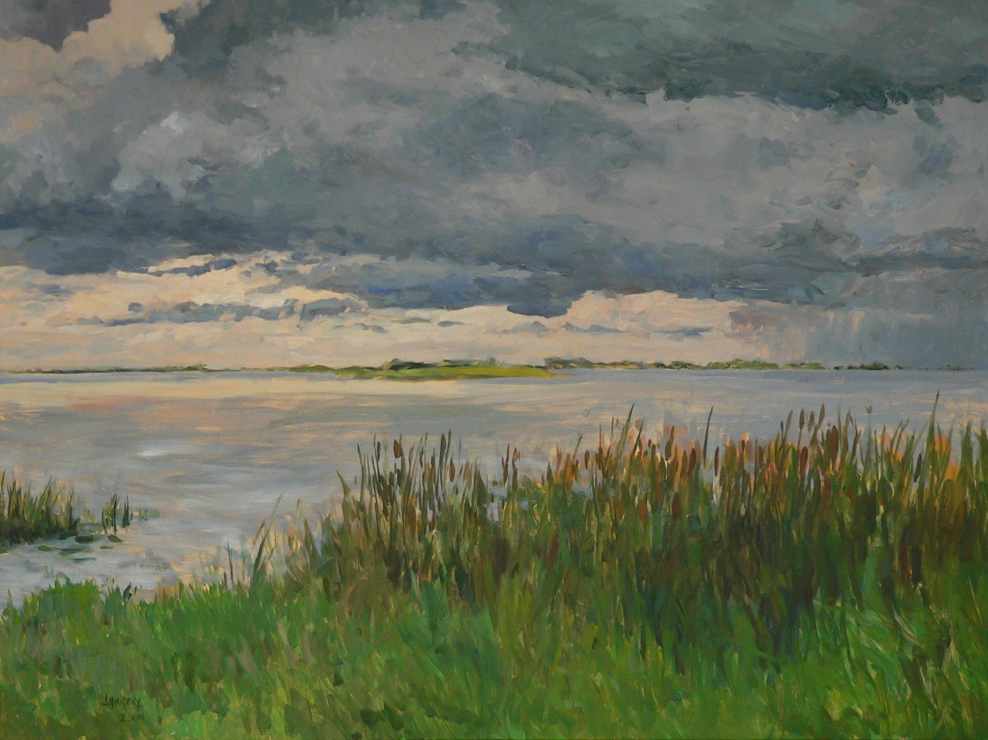 Liberty Island, Storm (#1).
