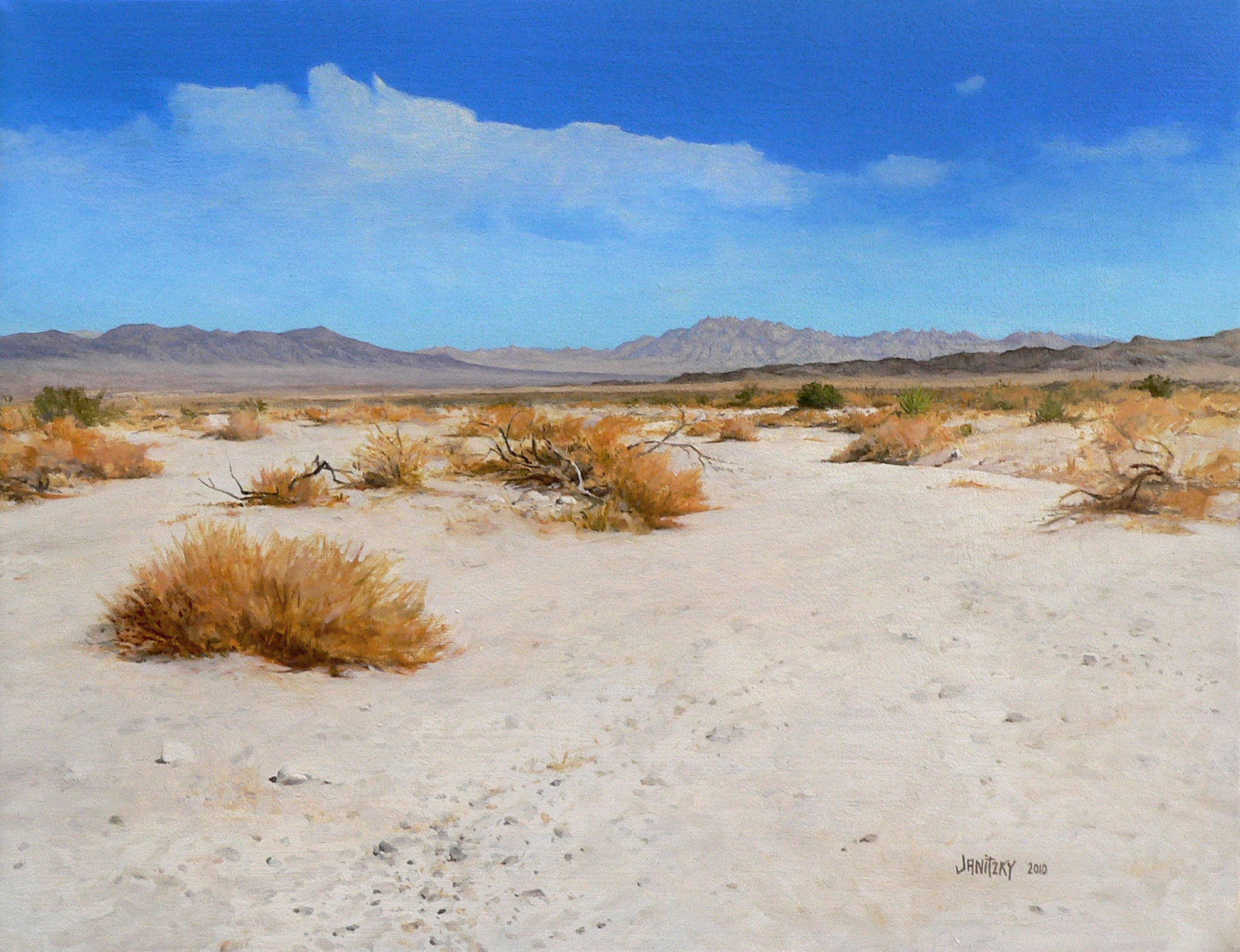 Porcupine Wash, Summer. 2010. Oil on linen, 14 x 18.jpg