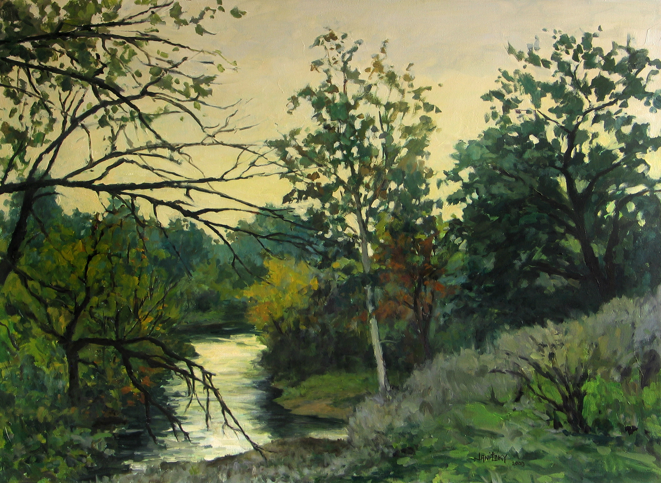 Putah Creek, October Evening (''Haven'').