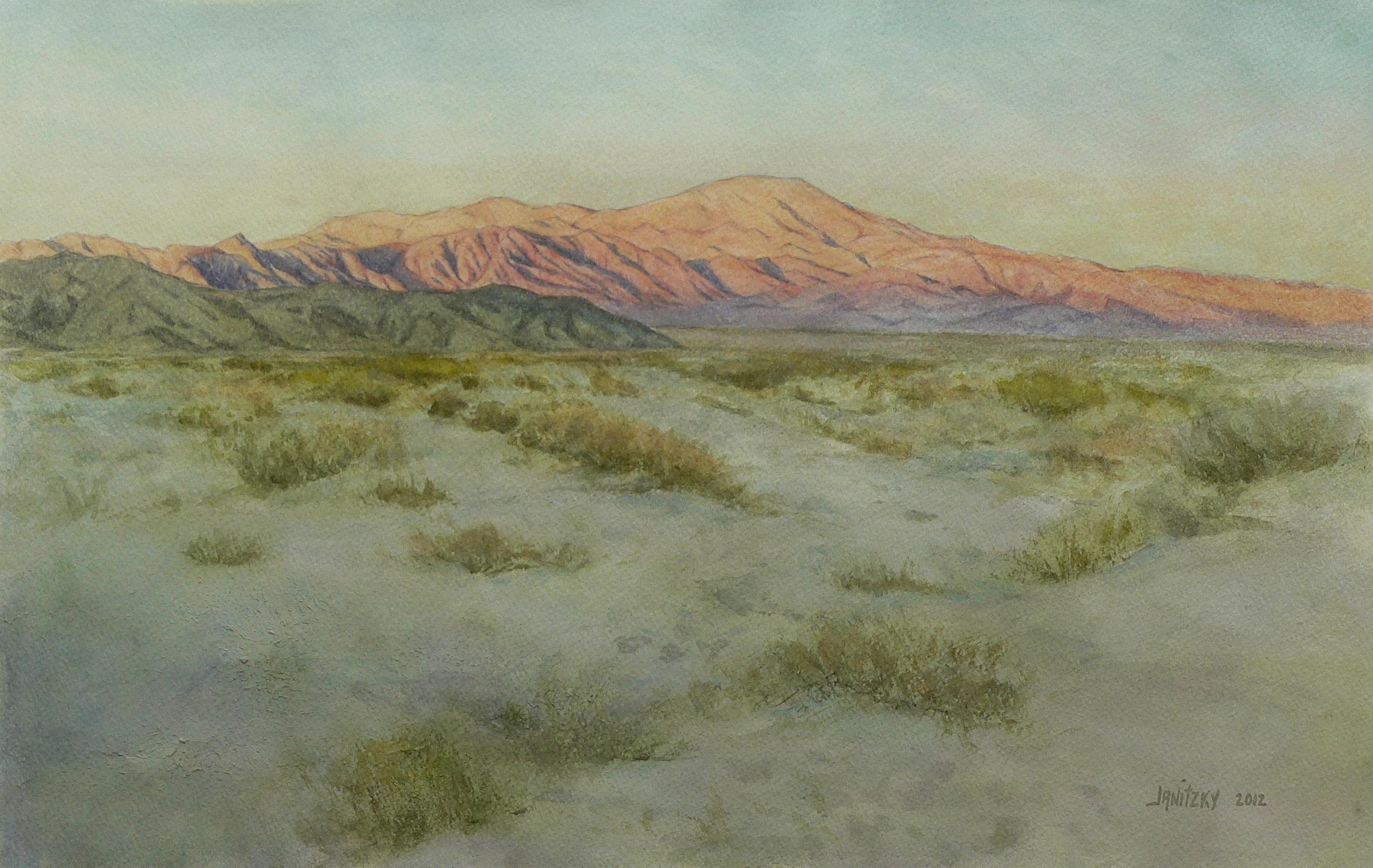 Pinto Mountain, Evening.