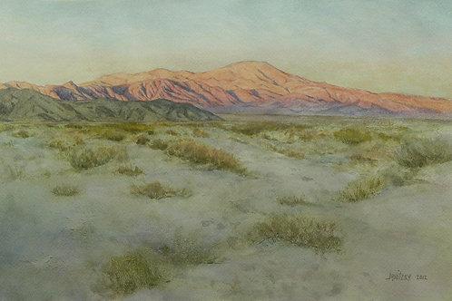 Pinto Mountain, Evening