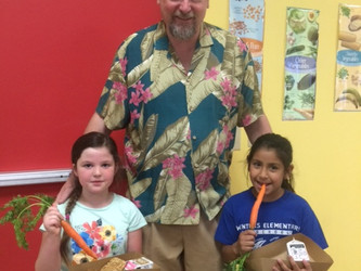 Distinguished Chef, Patrick Mulvaney, Tours   Winters Farm To School Program