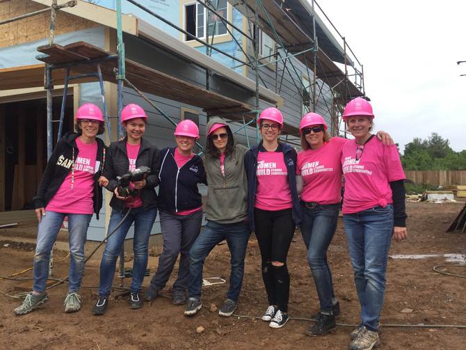Morse Gives Back: Habitat for Humanity's Women Build