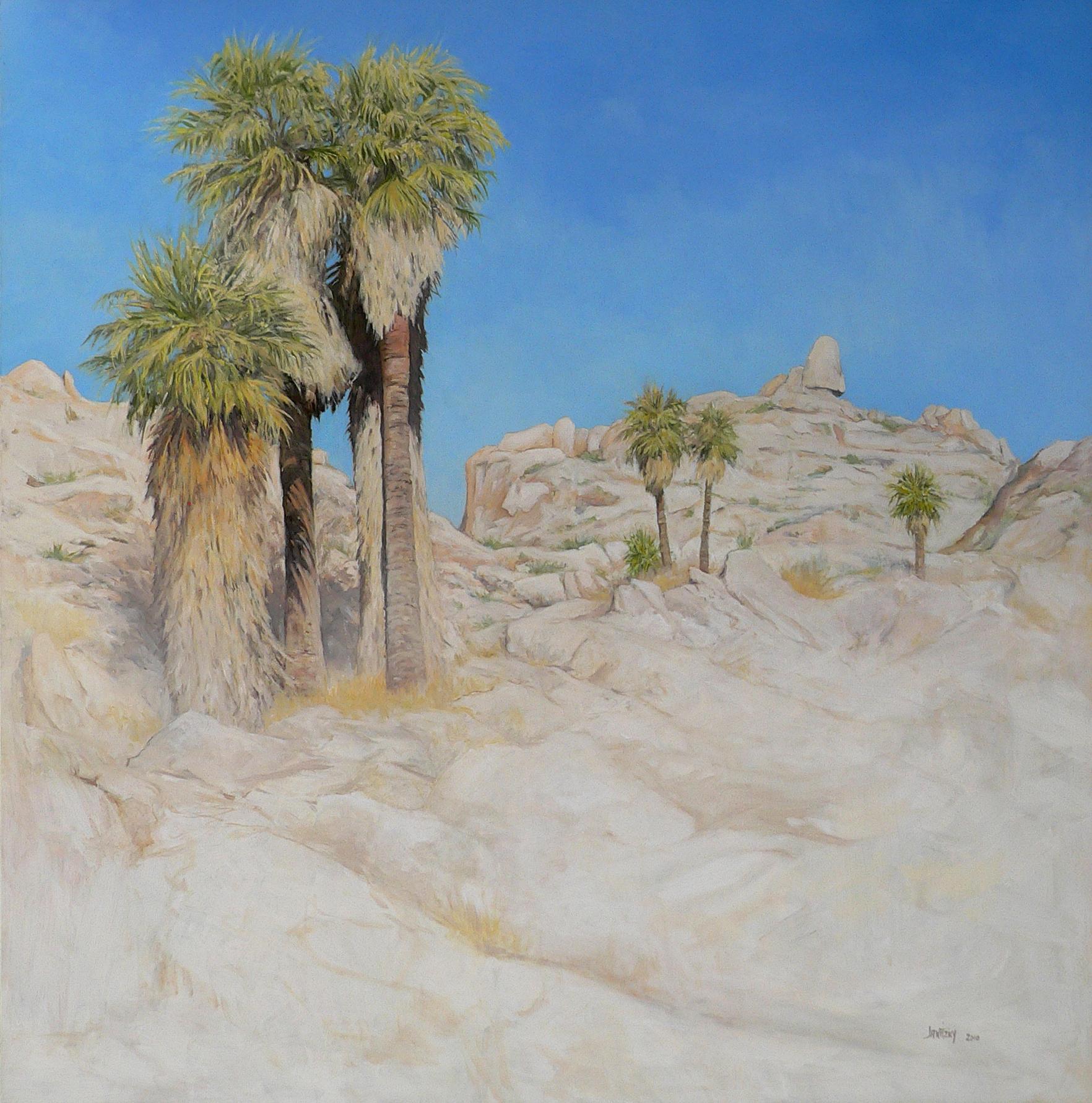 California Fan Palms.