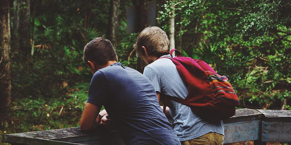 Friendship Bench Talking Circle with MGP