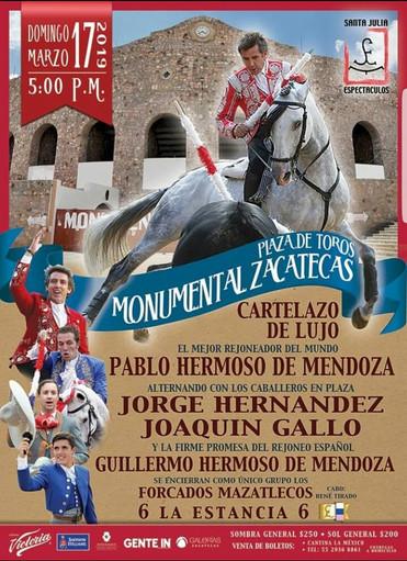 Monumental Zacatecas 2019