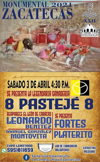 3 Abril 2021 Zacatecas