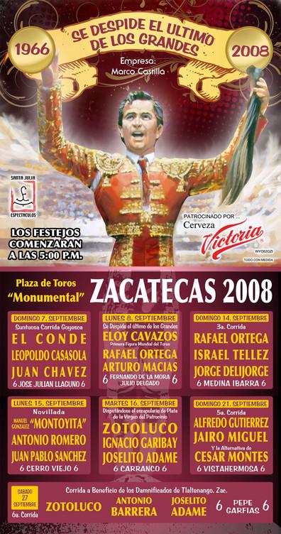 Monumental Zacatecas 2008