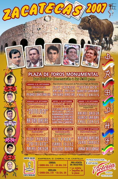 Monumental Zacatecas 2007