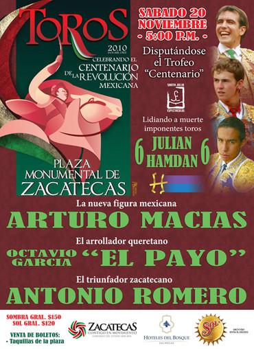 Monumental Zacatecas 2010