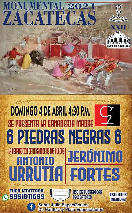 4 Abril 2021 Zacatecas
