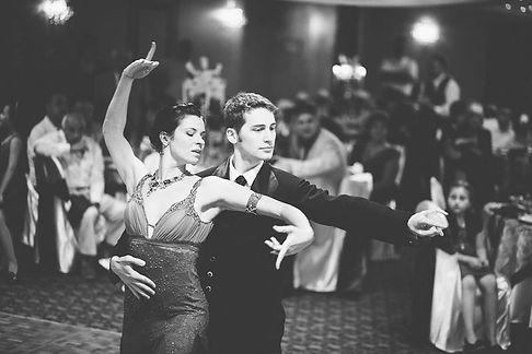 Ballroom Dancers at a Wedding