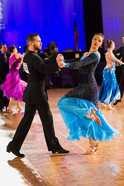 Ballroom dance competiton