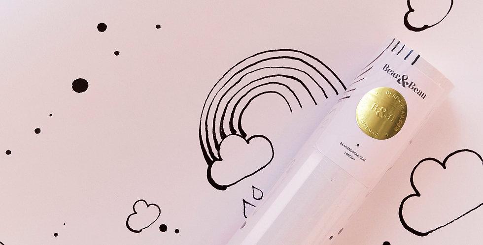 Sample Rainbow Love Wallpaper - Pink