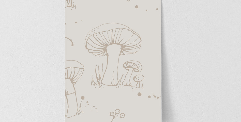 Sample of Woodland Creatures - Linen
