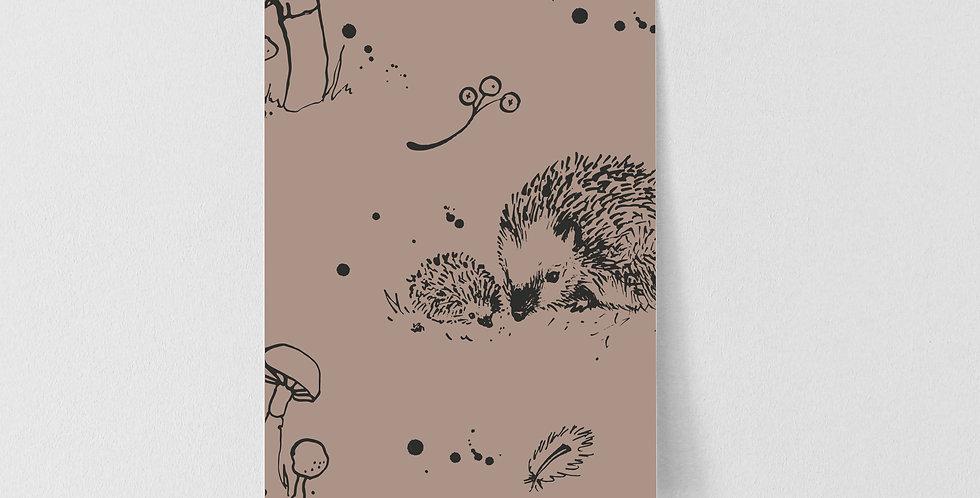 Sample of Woodland Creatures - Portobello