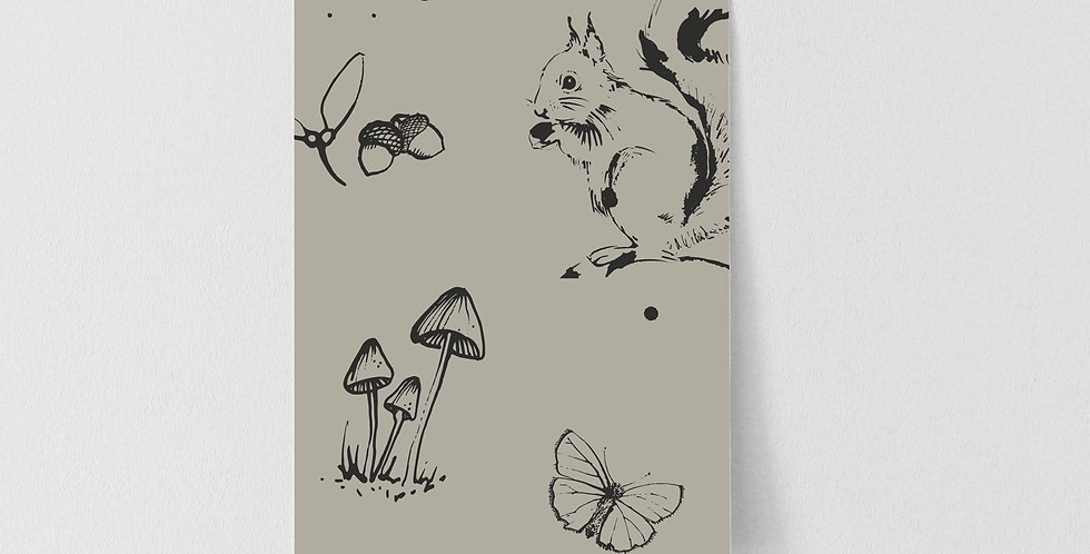 Sample of Woodland Creatures - Putty