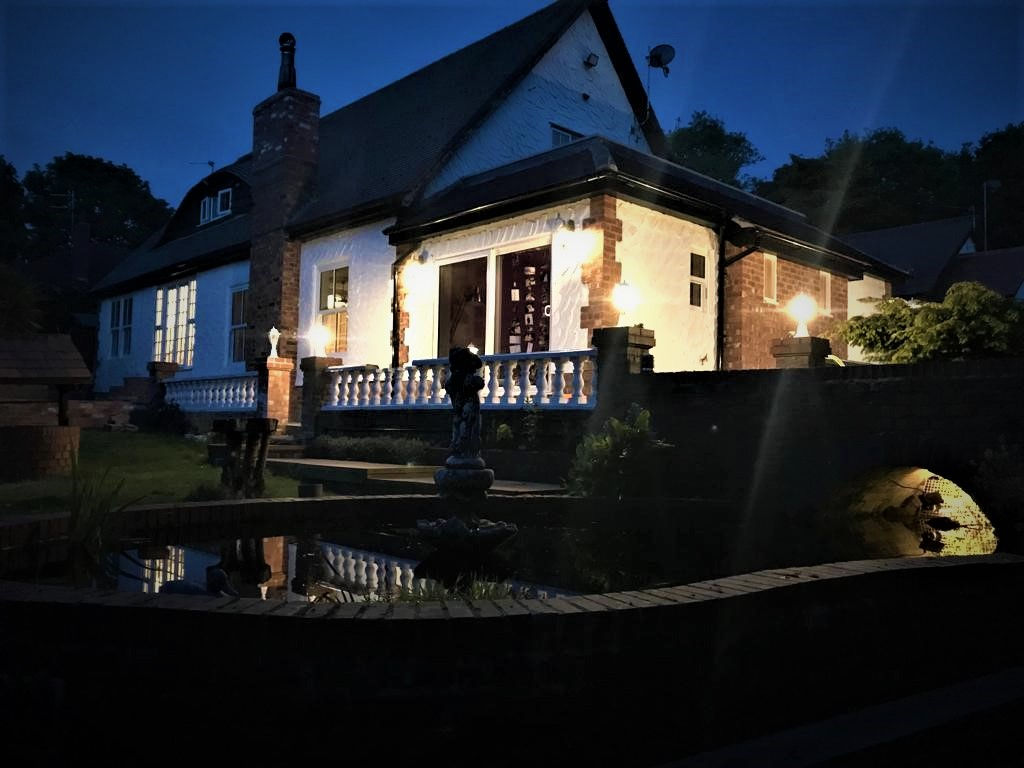 Single storey extension at night..jpg