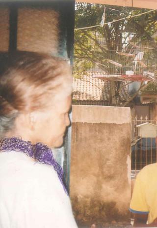 Minha bisavó, Luíza de Andrade e eu