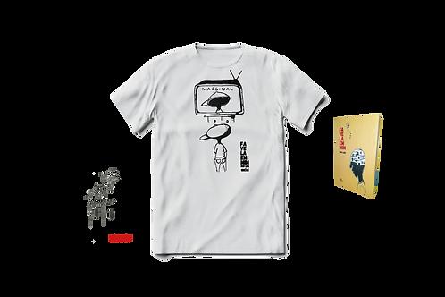 Combo 1 ano Favela em Mim: Livro + Camisa