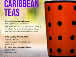 The Art of Tea.DVCI CARIBBEAN TEAS