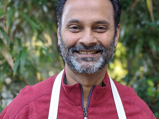 Tea and Conversation with Chef Hari Pulapaka:Dreaming IN Spices