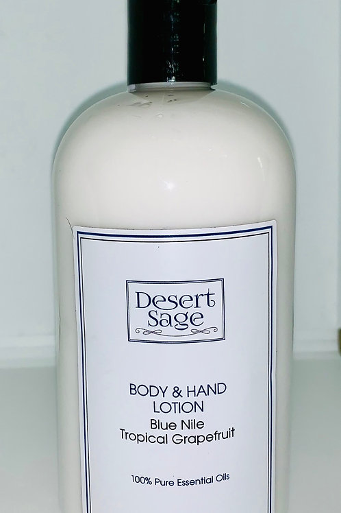 Blue Nile Body and Hand Lotion