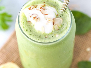 Tea and Conversation. How to make Matcha Green Tea Smoothie